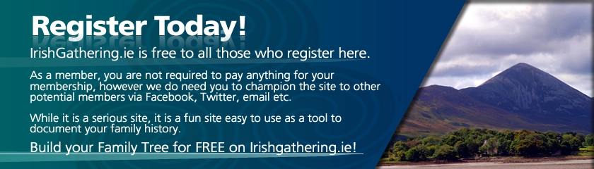 Irish Gathering Membership Registration