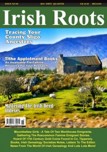 Irish Roots Magazine Cover.